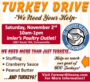 Turkey Drive Altoona @ Imler's Poultry Outlet