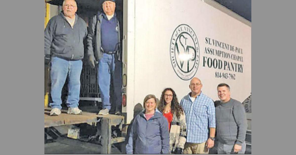 Schools Support Assumption Chapel Food Pantry Svdp
